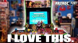 Teenage Mutant Ninja Turtles Arcade 1Up - TMNT Turtles in Time - I LOVE THIS!