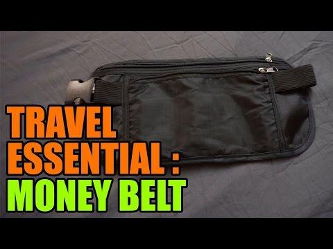Money Belt for Travel Security - A Traveller's Essentials