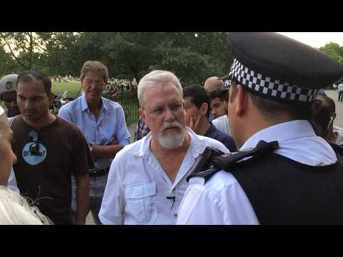 Jay Smith Pulled by Police | Speakers Corner | Hyde Park