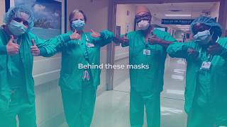 Behind These Masks - Hospital Week Salute To Heroes at Memorial Healthcare System