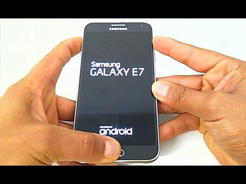 Samsung Galaxy E7 SM-E700M, E700M/DS ,  Hard Reset, Como formatar, Desbloquear, Resetar