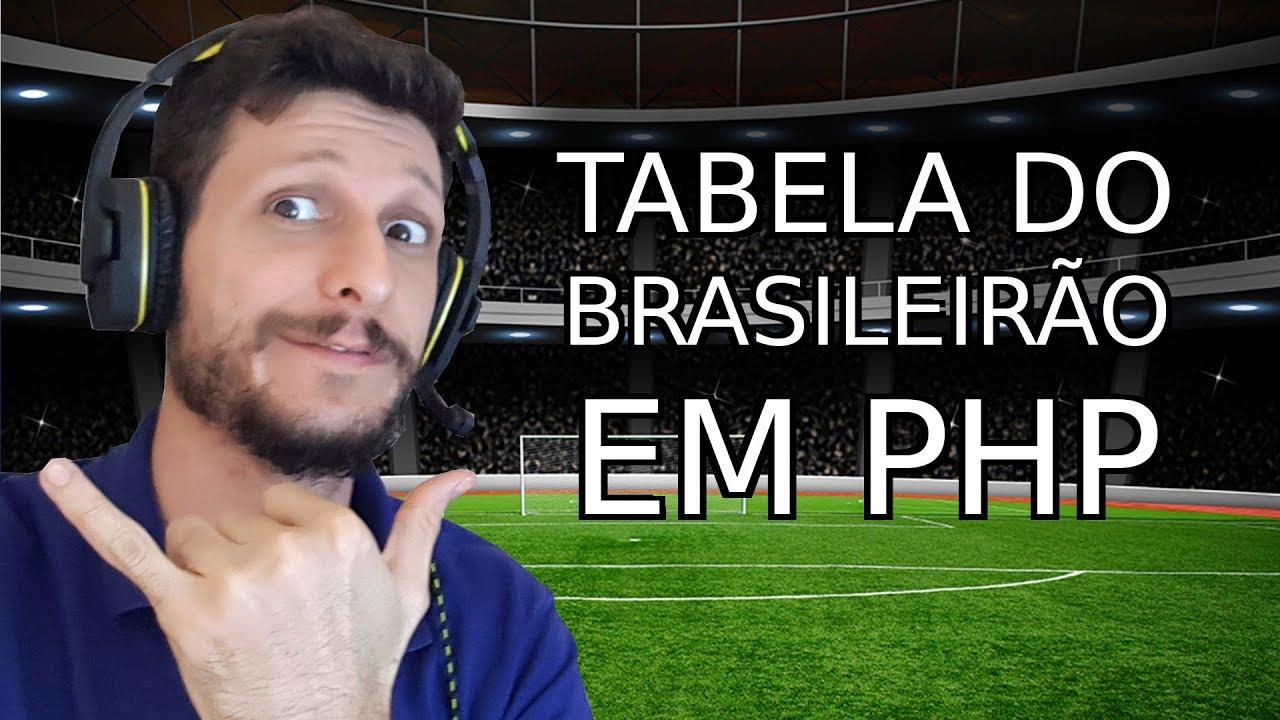 Pegando a Tabela do Brasileirão com o PHP