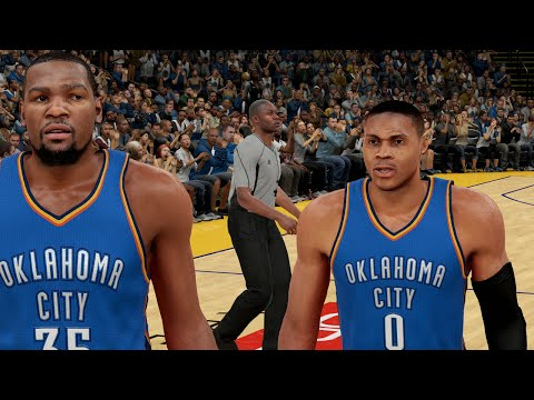 What If Kevin Durant Stayed With OKC? Would They Beat The Warriors?