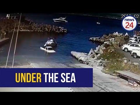 Granger Bay Fail As Bakkie Takes A Swim [Video]