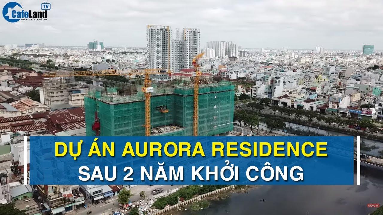 Kết quả hình ảnh cho Căn hộ Aurora Residences (quận 8) chậm tiến độ