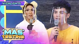 Vice notices Ronnie's weight loss   It's Showtime Mas Testing