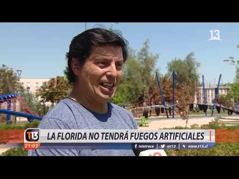 La Florida no tendrá fuegos artificiales