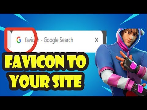 How To Add Favicon Logo To Your Website HTML ! - 동영상