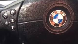 Скрип руля при повороте BMW Е39, решение проблемы