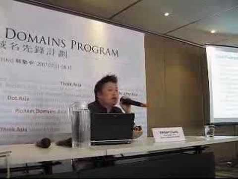 .Asia Pioneer Domains Program launch -- What?
