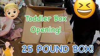 Ultra Realistic Reborn Toddler Prototype Box Opening! 25 POUND BOX! | Kelli Maple