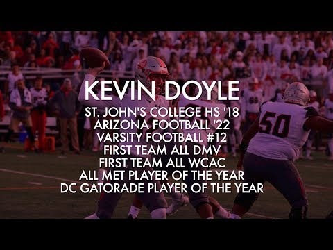 Kevin Doyle Senior Year Full Season Football Highlights
