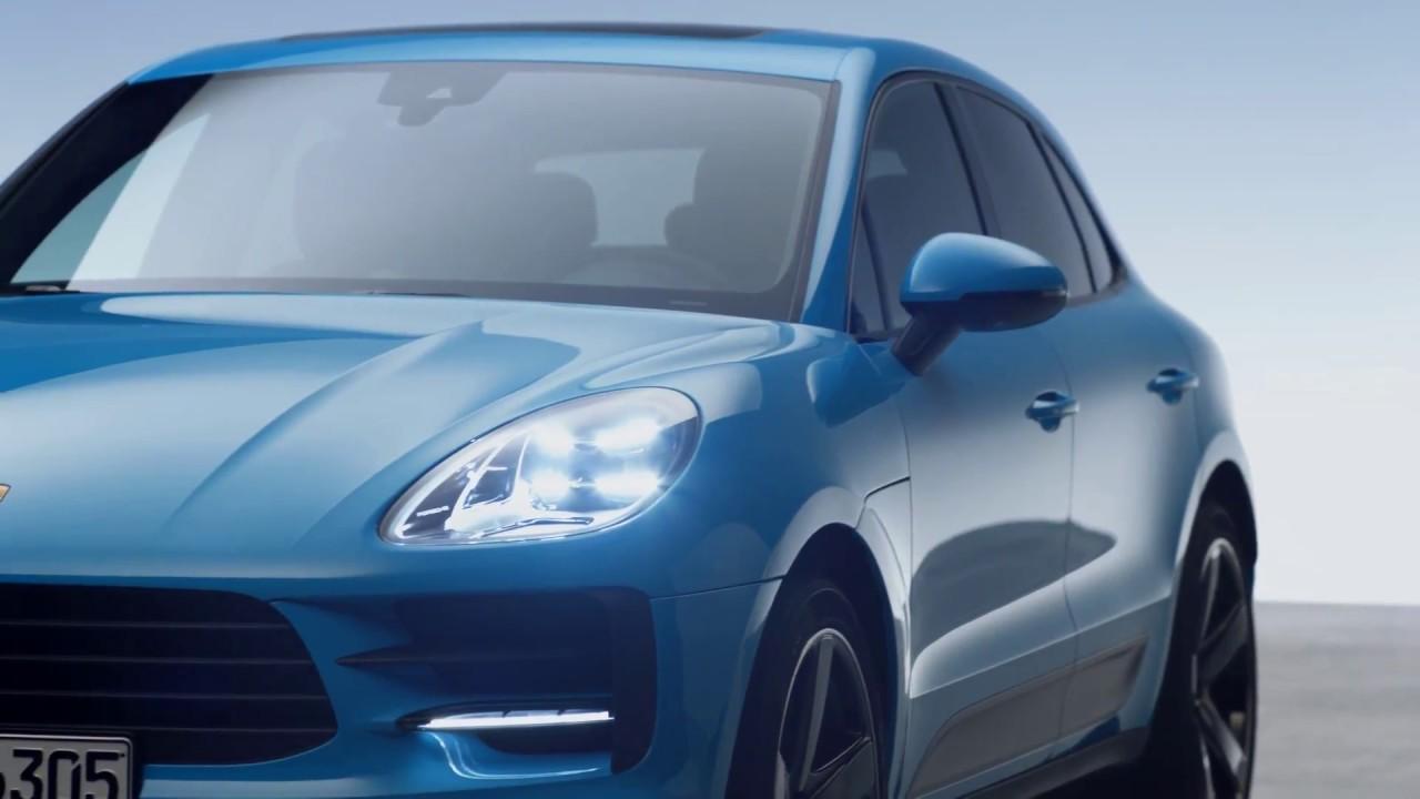 2019 Porsche Macan Headlights \u0026 Tail Lights