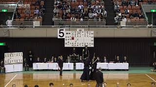 KUMAMOTO sv IBARAKI 66th All Japan Interprefectrue Kendo Championship 2018 Semi Final
