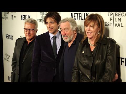 Arrivals: Noah Baumbach & Dustin Hoffman red carpet - 2017 Tribeca Film Festival - Meniscus Magazine