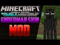 Playing Minecraft Wii U Minigames with My Enderman Skins Mod