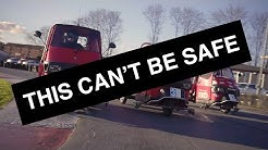 THIS CAN'T BE SAFE! - Episode 1: Piaggio Ape Racing   Carfection