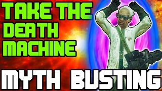 CAN THE PENTAGON THIEF TAKE THE DEATH MACHINE?? BLACK OPS 3 / IW ZOMBIES | MYTH BUSTING MONDAYS #73