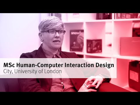 Human-Computer Interaction Design at City University London