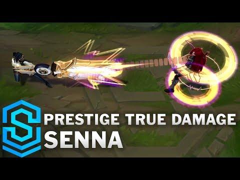Prestige True Damage Senna Skin Spotlight - Pre-Release - League of Legends