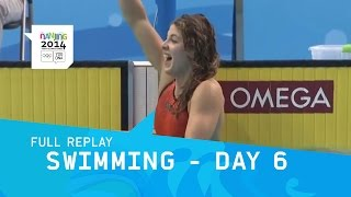 Swimming - Day 6 Finals Men/Women   Full Replay   Nanjing 2014 Youth Olympic Games
