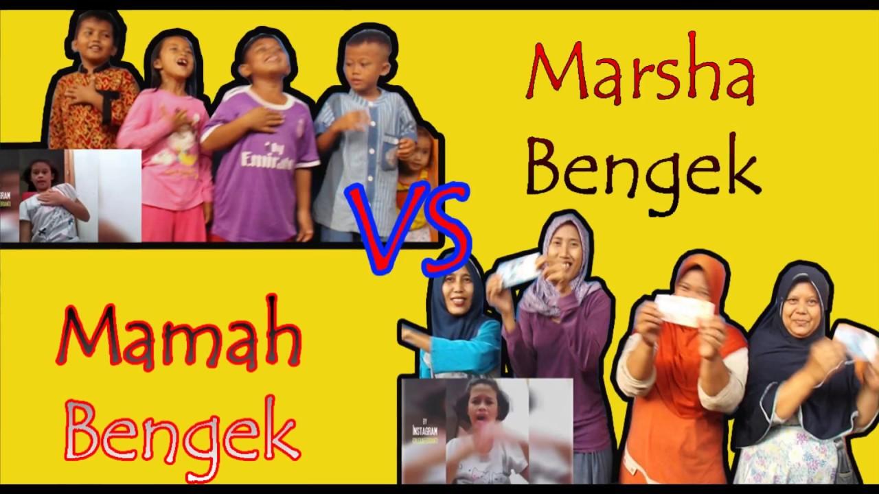 MARSHA BENGEK VS MAMAH BENGEK ♥ IBU_IBU IKUTAN WABAH NGIK-NGIK CHALLENGE