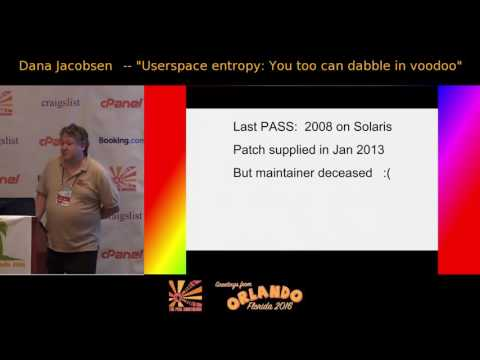 Userspace entropy: You too can dabble in voodoo!