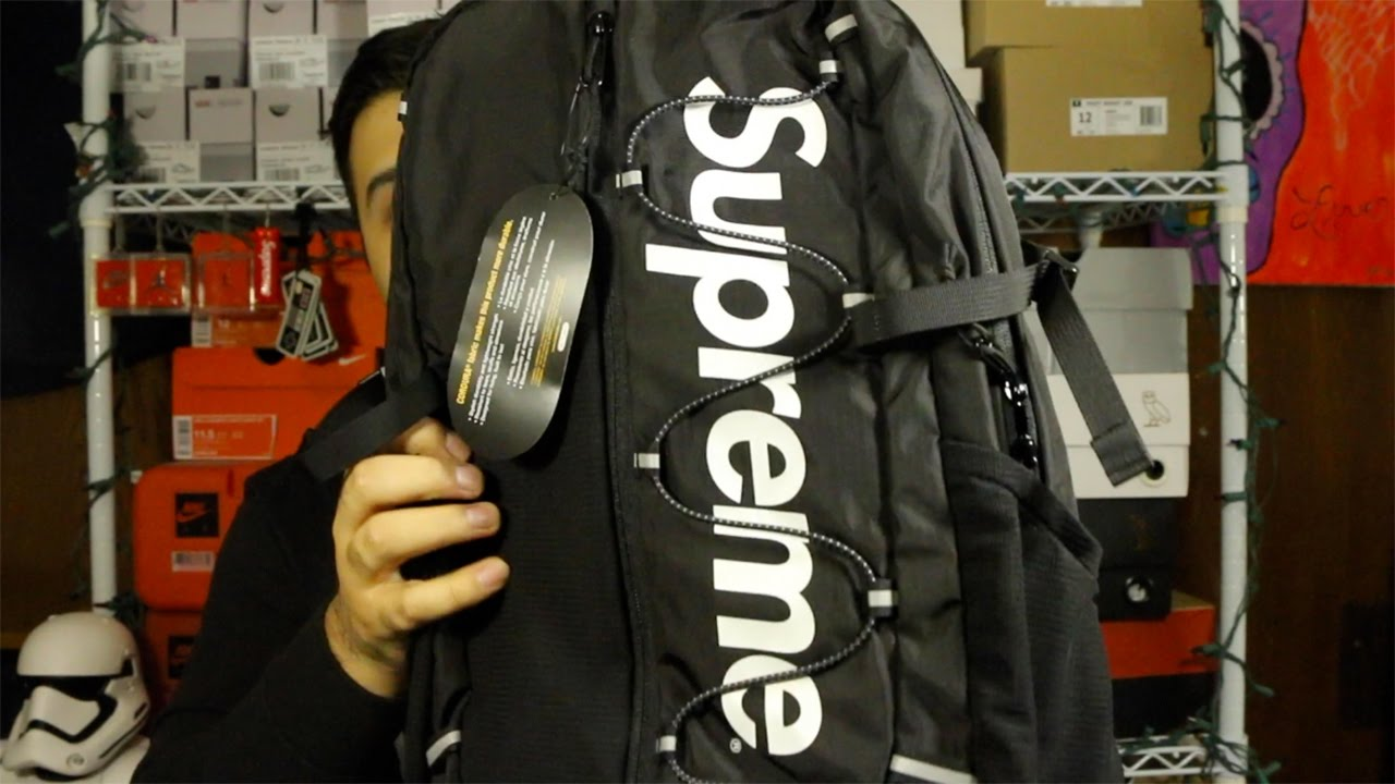 Supreme SS 17 Week 1 Pickup Unboxing! Backpack, Elephant Tee, And