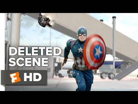 Captain America: Civil War Deleted Scene - Get Me One of Those (2016) - Chris Evans Movie
