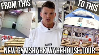 HOW WE CAN SHIP UP TO 50,000 ORDERS PER DAY - NEW GYMSHARK WAREHOUSE TOUR