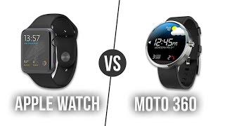 Apple Watch ile Moto 360 Karşı Karşıya!