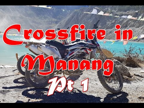 2016 Asia Wing / Crossfire XZ250RR Enduro - The rough road to Upper Manang, Nepal Pt1