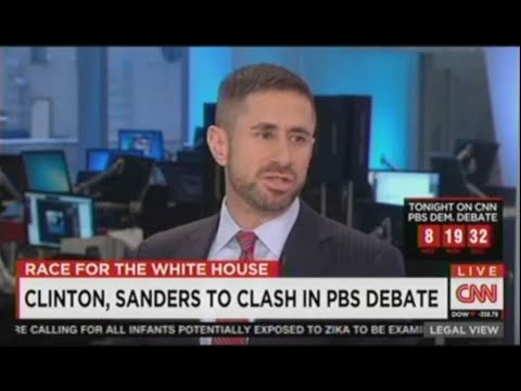 Bernard Whitman Comments on Clinton and Sanders' Upcoming Democratic Debate