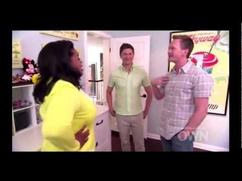 Neil Patrick Harris & David Burtka  Oprah's Next Chapter Part 1