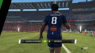 CASTRES - RACING 92 : match en Multi : Rugby Challenge 3