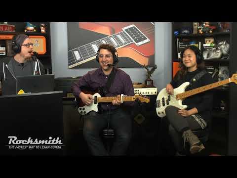 Rocksmith Remastered --John Mellencamp Song Pack -- Live from Ubisoft Studio SF
