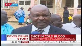 Developing: Homabay CEC Donny Opar shot dead by unknown assailants on Friday