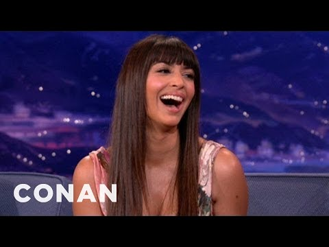Hannah Simone Is Wary Of Pubic Hair Art