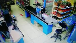 Afyonkarahisar'da markette çatışma