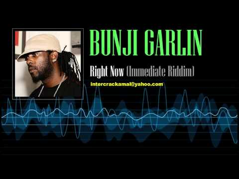 Bunji Garlin - Right Now (Immediate Riddim)