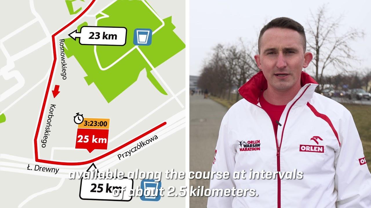 ORLEN Warsaw Marathon 2018 - prezentacja trasy