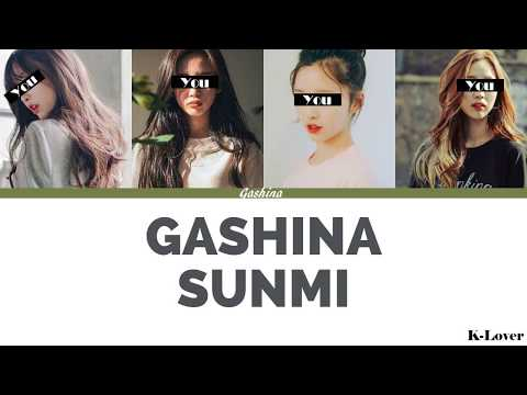 [YOUR GIRL GROUP] GASHINA - SUNMI [4 Members Version] ▷ K-Lover