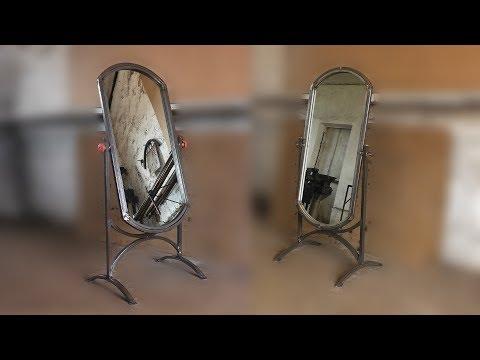 Зеркало поворотное