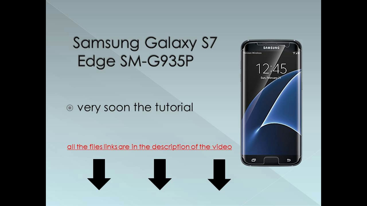 How To Unbrick or Flash Stock Firmware in Samsung Galaxy S7 Edge SM-G935P  new video may 2018 MEGA