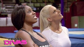 Maryse tries to get Naomi to relax by taking her to a trapeze class: Total Divas, Dec. 21, 2016