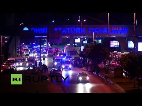 LIVE from Istanbul after explosions rock airport