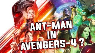 Ant-man In Avengers-4 Possibilities ?   Explained in Tamil