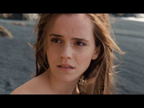 Emma Watson Tells Us Why Russell Crowe Had to Bribe the Extras on Noah's Set