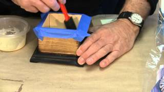 Flocking The One Piece Boxes - A Woodworkweb.com Woodworking Video