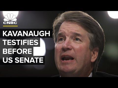 Brett Kavanaugh, Christine Blasey Ford testify before U.S. Senate —Thursday, Sept. 27 2018